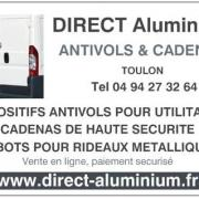 Photo DIRECT Aluminium antivols et accessoires