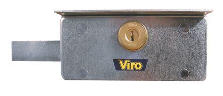 SERRURE BLINDEE VIRO POUR RIDEAUX METALLIQUES  4201