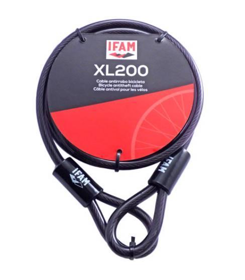 Antivol cable ifam xl2000 longueur 2 metres