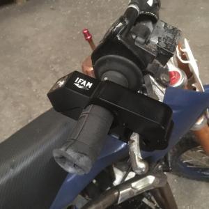 Antivol ifam levier de frein rpm pour moto cross dirt bike quad velo trottinnette electrique