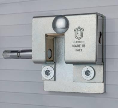 Antivol porte de garage basculante ou sectionnelle et rideau metallique ft 4930 smart