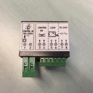 Boitier de gestion pour serrure electrique 7905 v06 harpon rotatif pour portail coulissant et porte de garage sectionnelle