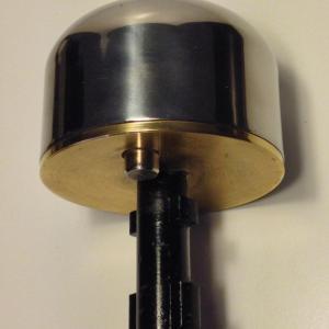 Boulle demi bille pour sabot viro 4221 antivol pour rideaux de fer et portes de garage 1