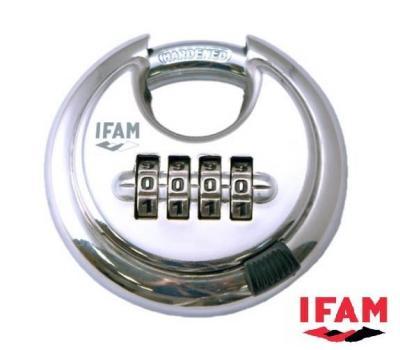 Cadenas à combinaison CIRCULAR COMBI Ifam