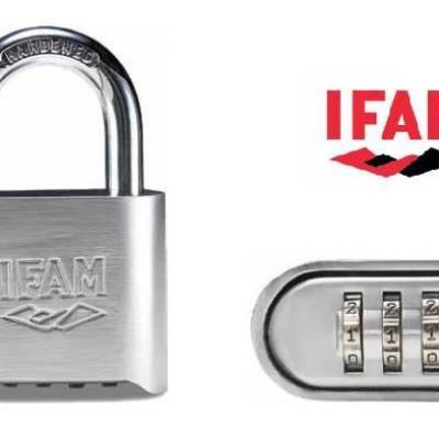 Cadenas à combinaison PR 50 IFAM