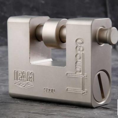 Cadenas blinde haute securite ifam huno80 avec anse de 14 mm 1