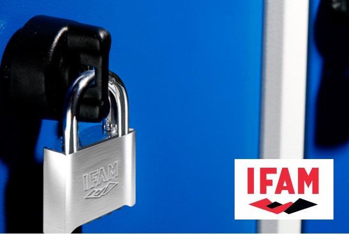 Cadenas de securite a combinaison ifam pr50 pour casier