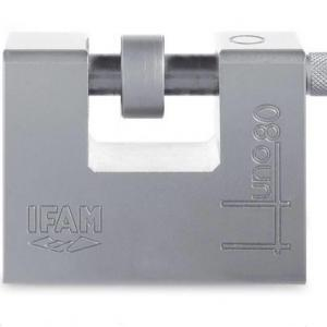 Cadenas haute securite ifam huno80 avec axe de 14 mm