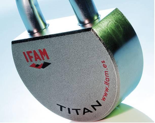 Cadenas ifam titan a tres haute securite grade 6