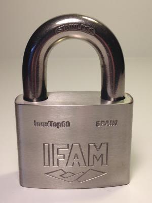 Cadenas INOX INOXTOP 60 IFAM, anse de 12 mm