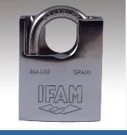 Cadenas INOX max 50 ifam, Protection de anse