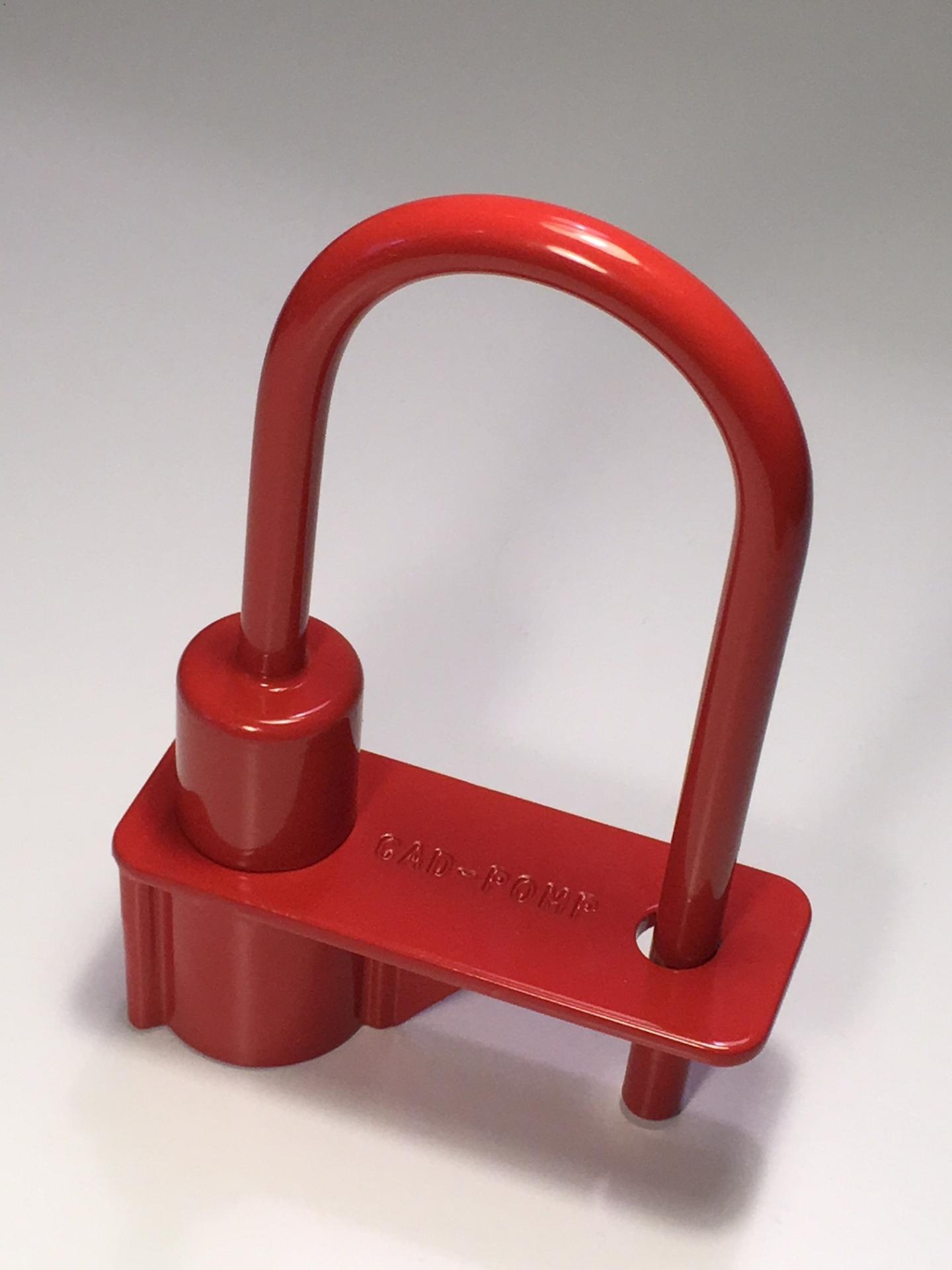 Cadenas pompier ifam triangle de 14 mm rouge