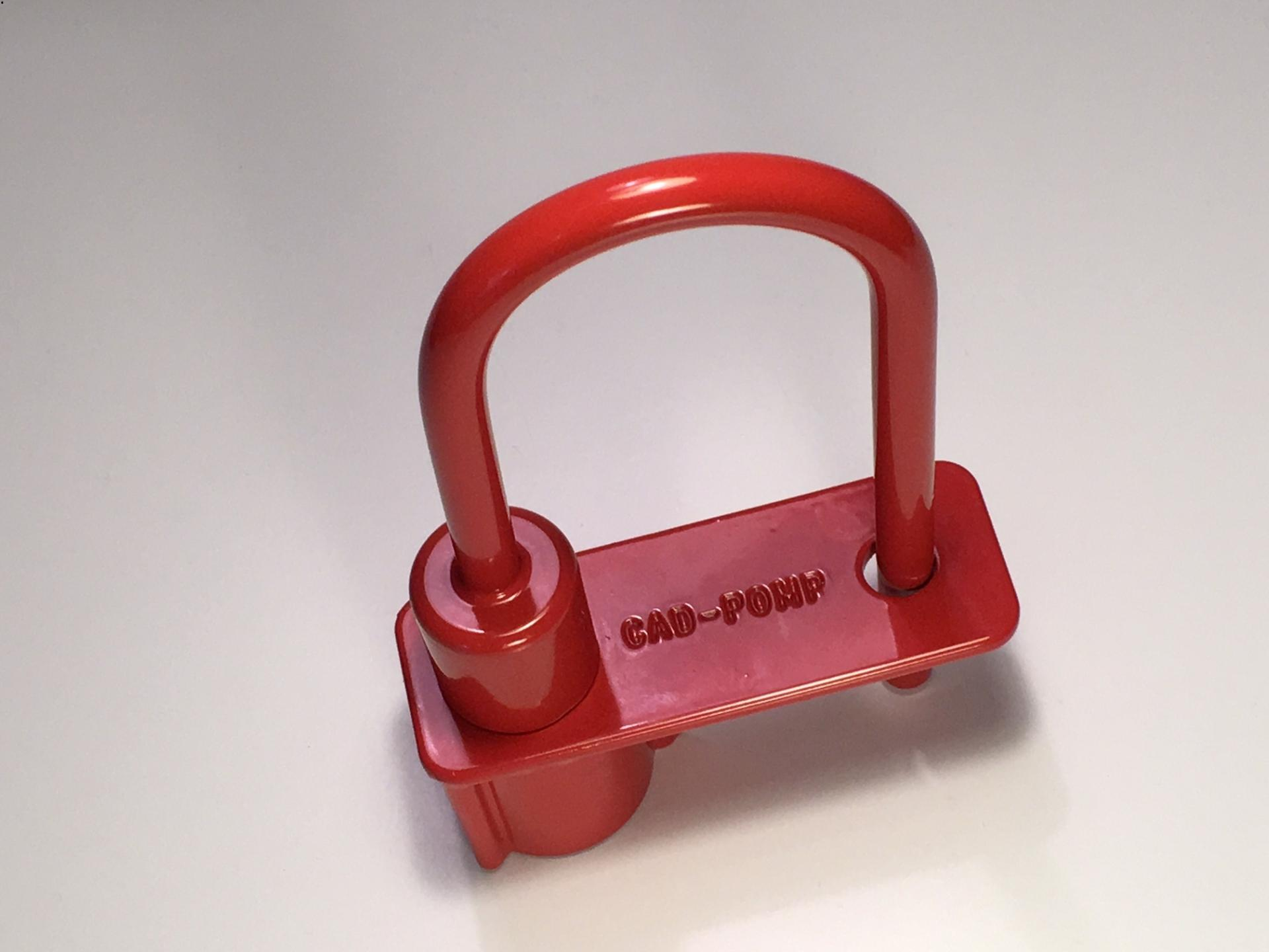 Cadenas pompier rouge triangle de 14 mm ifam