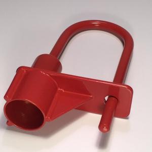 Cadenas pompier rouge triangle de 14 mm ifam