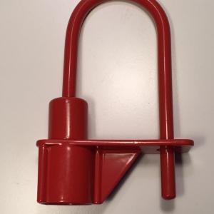 Cadenas pompier triangle de 14 mm ifam rouge