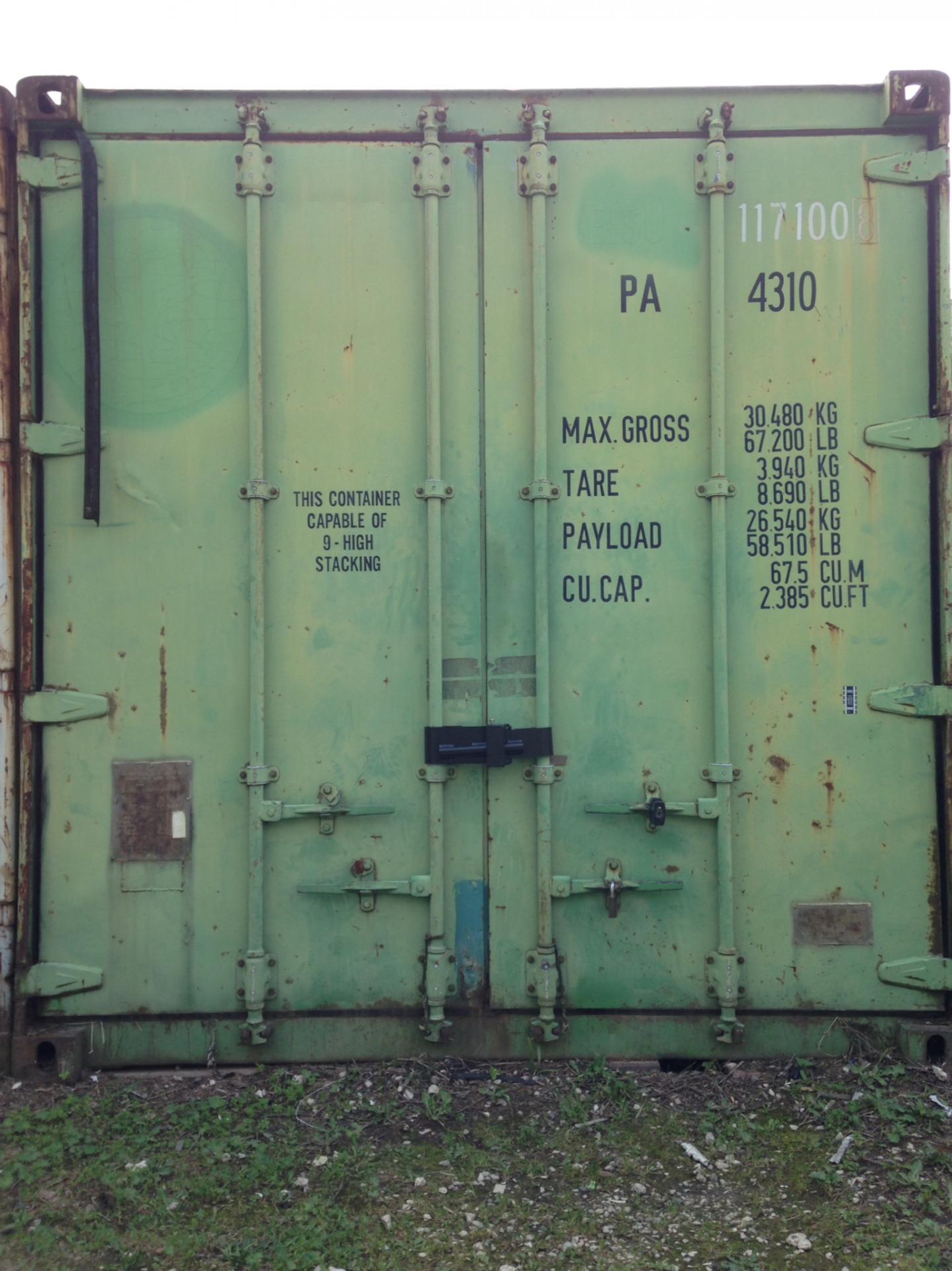 Cadenas pour conteneurs container lock mul t lock