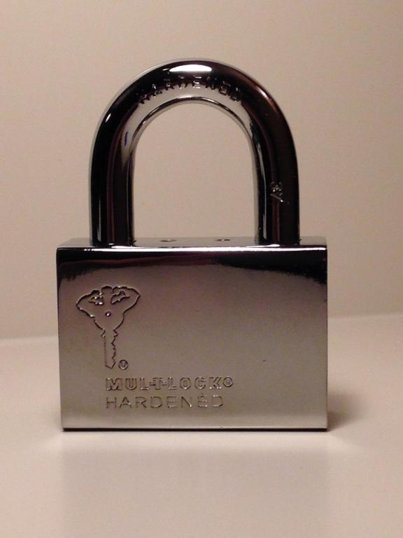 Cadenas Haute Sécurité Professionnelle CAD-C13 reg Mul-t-lock, CEN 4