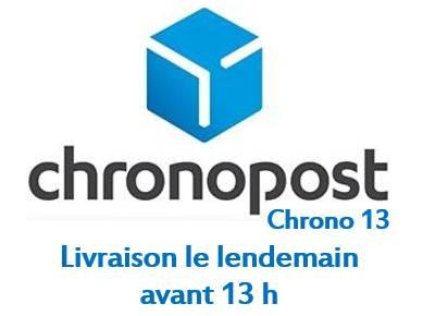 Chronopost chrono 13, Livraison le lendemain avant 13 hrs