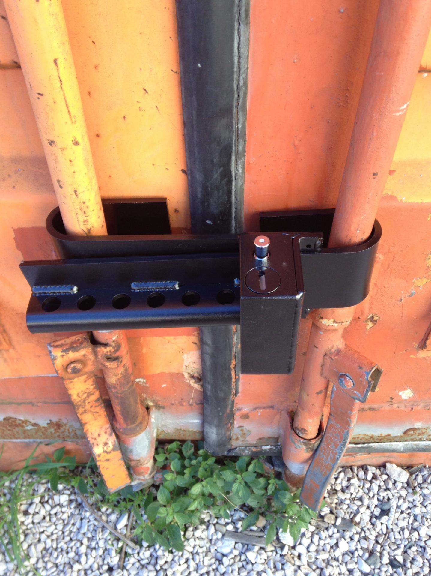 Container lock ajustable antivol pour conteneur