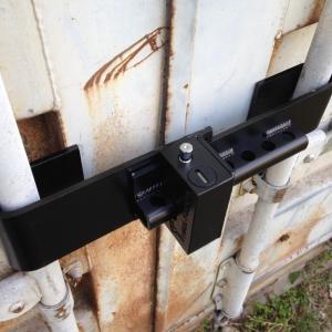 Container lock antivol pour conteneurs et poids lourd