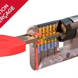 Cylindre haute securite ifam wx 1000 anti percage