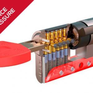 Cylindre haute securite ifam wx 1000 anticassure