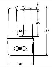 Bloque disque master disk ifam antivol moto cadenas moto for Bloque fenetre sans percage