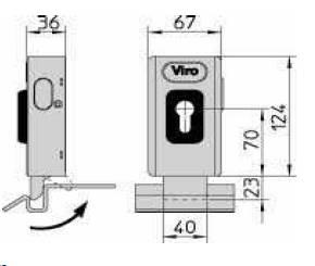 Dimensions serrure electrique v06 1 7918viro