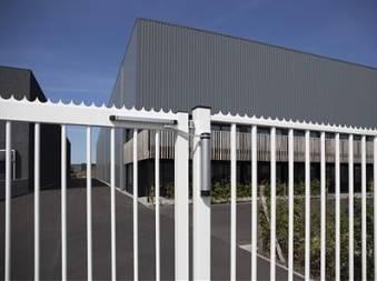 Ferme portillon portail et grille acier locinox lion