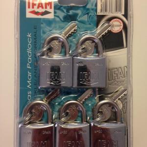 Lot de 5 cadenas inox m 30 ifam 2