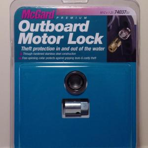 Mcgard 74037 antivol pour moteurs hors bord