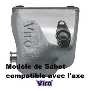 Modéle sabot Viro condor compatible avec l'axe