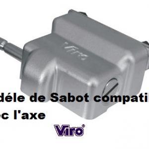 Modéle sabot Viro nouveau condor compatible avec l'axe