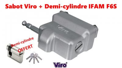 SABOT Viro 1.4218 VIRO + demi cylindre 30x10 IFAM F6S, OFFRE SPECIALE