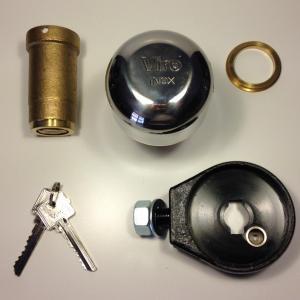 Sabot viro demi bille 4221 antivol pour rideaux metalliques et portes de garage