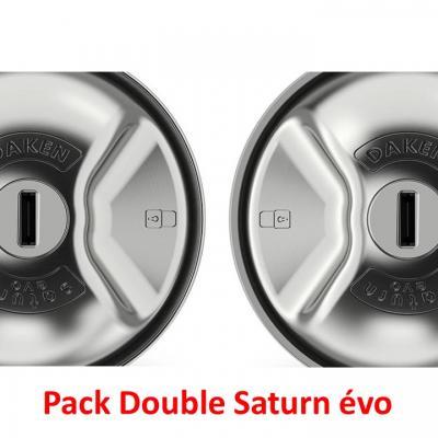 Pack Double Saturn évo Daken, antivol pour utilitaires