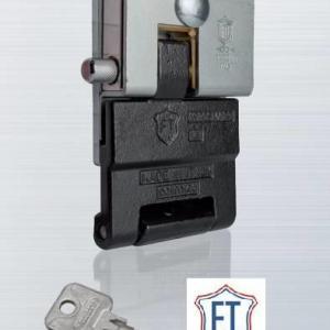 Serrure antivol ft 4930 smart pour porte de garage basculante ou sectionnelle rideau metallique porte acier ft eff ti taroni