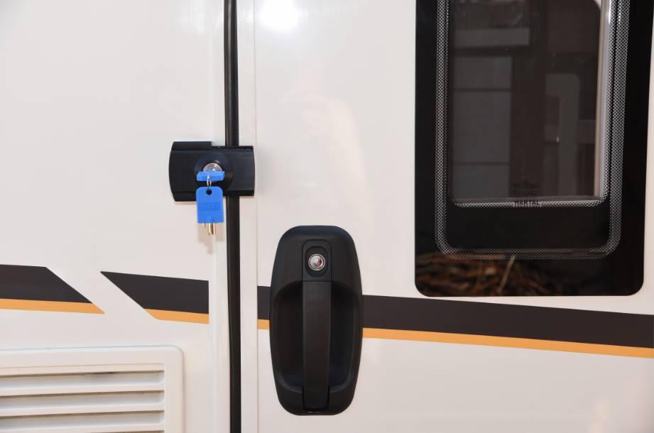 Serrure antivol imc 1507b noir pour camping car et caravane ok