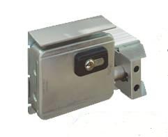 Serrure electrique 7905 v06 harpon rotatif pour portail coulissant et porte de garage