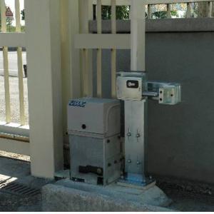 Serrure electrique viro 7905 v06 avec harpon rotatif pour portail coulissant et porte de garage motorisee