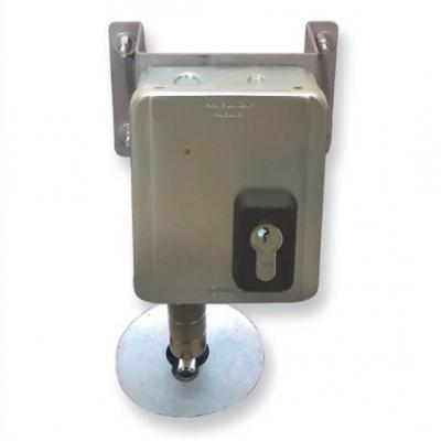 Serrure electrique VIRO 7905 V09 Harpon rotatif avec Kit 7905.0600.2 pour porte sectionnelle