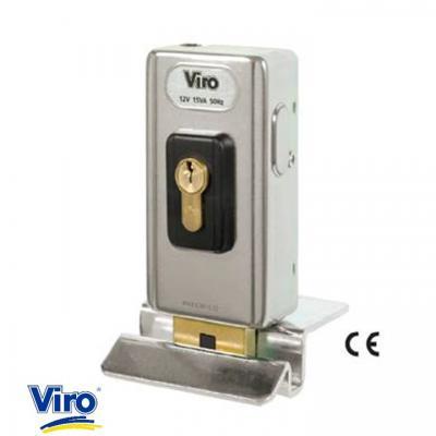 Serrure electrique VIRO V06  Ref 1.7918 avec gâche au sol