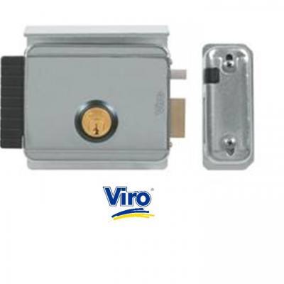 Serrure electrique VIRO V8992 V97 DROITE 12 volts CA, réglable de 50 a 80 mm