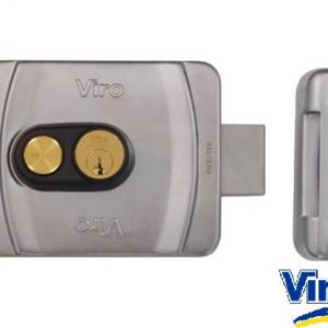 Serrure electrique viro v9083 a bouton ref 9083 0794 p