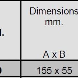 Serrure blindee viro pour rideaux metalliques 8231 9