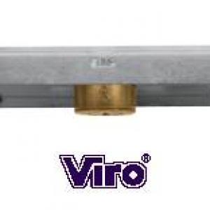 Serrure viro pour rideaux metalliques 8231.9