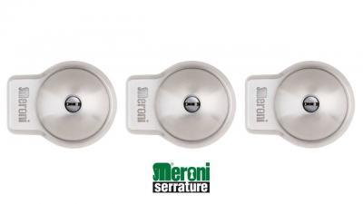 Pack Triple UFO+ MERONI, Antivol pour utilitaires