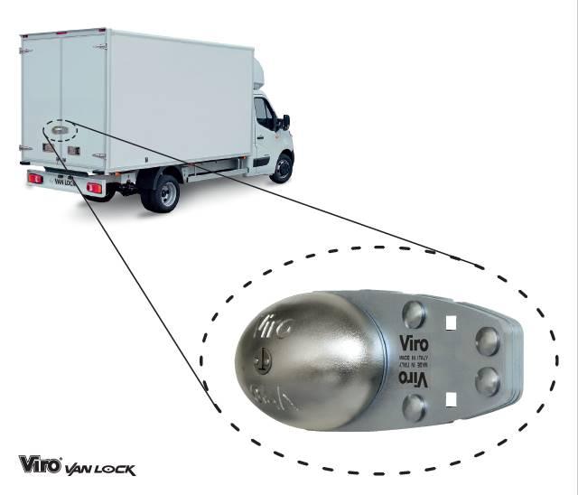 Vanlock camion antivol pour camions et poids lourd