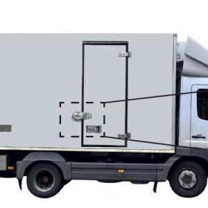 Vanlock camion antivol pour portes des camions et poids lourd