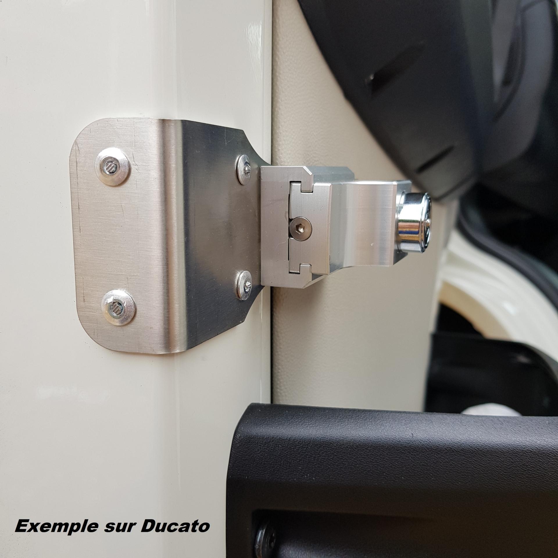 Verrou a cle imc pour les portes avant ds camping cars profiles jpg